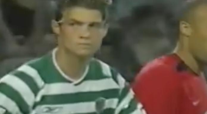 Cristiano Ronaldo si presenta al mondo – 6 agosto 2003 – VIDEO