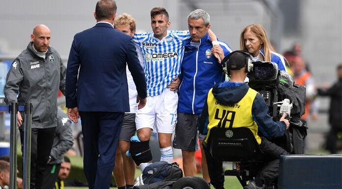 Spal, D'Alessandro:«Infortunio particolare. Non vedo l'ora