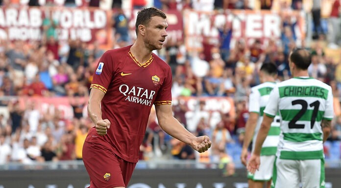 Roma, Dzeko: «Fatta una grande partita. Su Immobile…»