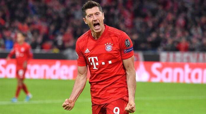 Lewandowski eguaglia Ronaldo: segnati 9 gol in trasferta in
