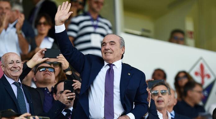 Fiorentina, il patron Commisso in visita a Superga FOTO
