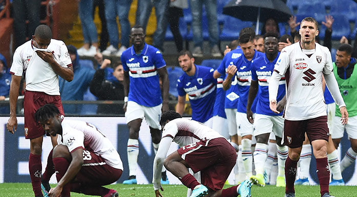 Sampdoria, doppia quarantena per Yoshida e Vieira: ecco perc