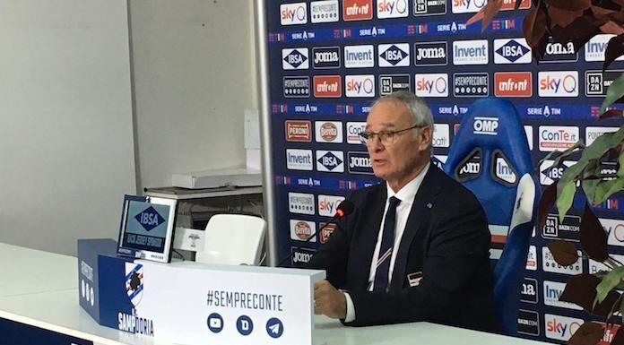 Conferenza stampa Ranieri: «Un punto è sempre un punto»