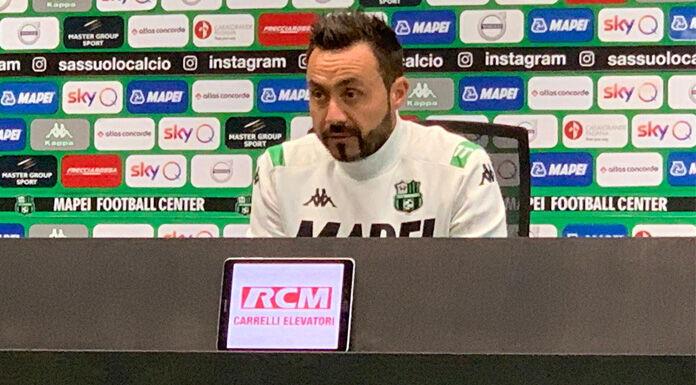 Conferenza stampa De Zerbi: «A Genova siamo stati trattati m