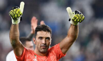 Buffon record presenze Serie A