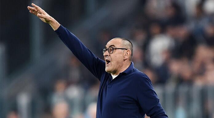Sarri: «La Lazio dà la sensazione di potersi inserire nella