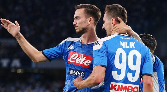 Napoli qualificato agli ottavi di Champions League, Genk pie