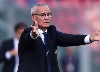 Ranieri Sampdoria Napoli cori