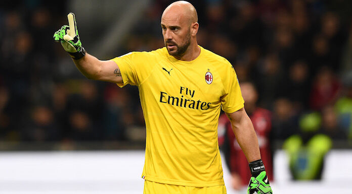 Milan, futuro ancora incerto per Reina dopo il prestito all'Aston Villa