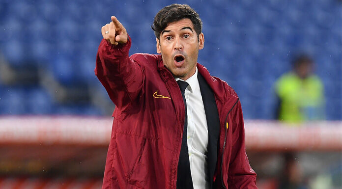Roma, Fonseca: «Brutta partita. Pellegrini e Zaniolo…»