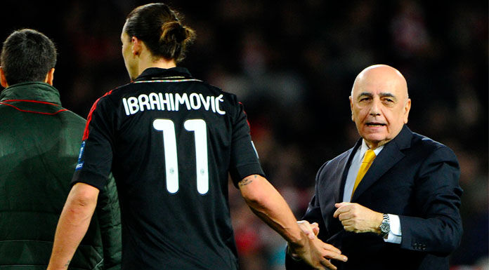 Galliani: «Ibrahimovic è un leone. Boateng? Arriva lunedì»