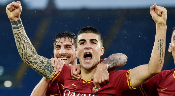 LIVE Roma Genoa 1 0: finisce il primo tempo, decide Mancini
