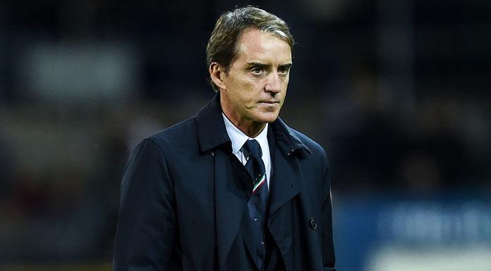 Inter Roma, tribuna fitta di grandi presenze: da Totti al ct Mancini