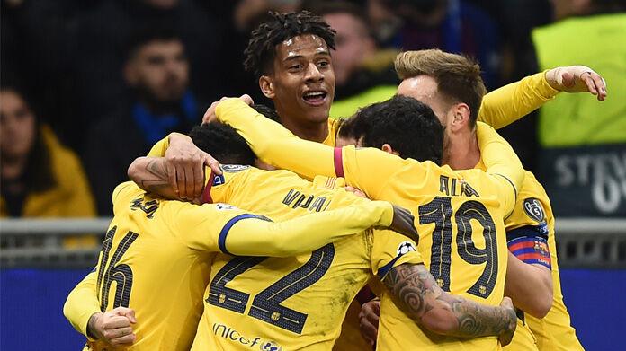 Barcellona Napoli Inter