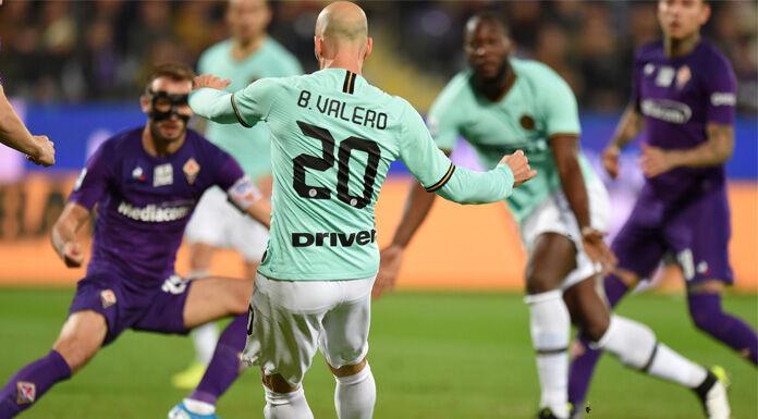 Fiorentina Inter 0 1 LIVE: tiro di Pulgar