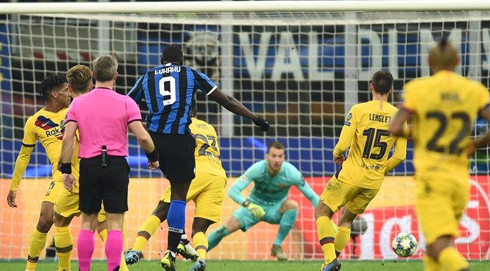 Inter Barcellona 1 1 LIVE: tiro di Rakitic