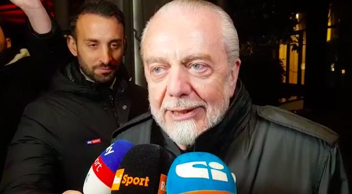 De Laurentiis: «Ibra?Il Napoli non ha bisogno di un altro a