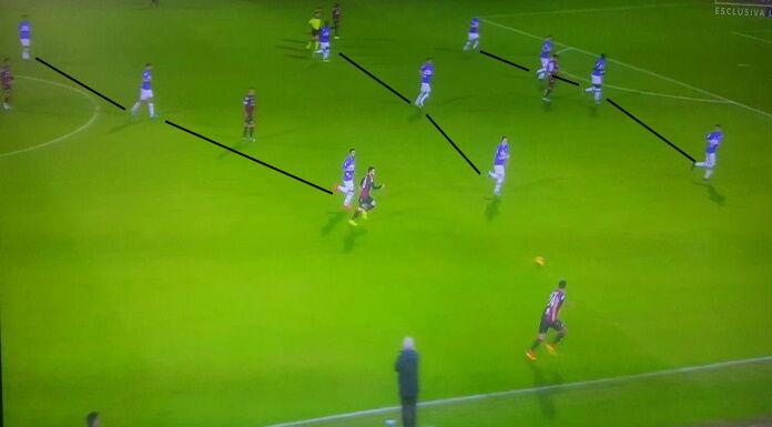 Sampdoria: Ranieri ha cambiato la struttura difensiva della