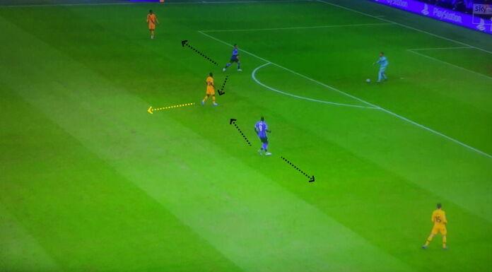 Inter Barcellona: Conte e l'inferiorità numerica delle punte