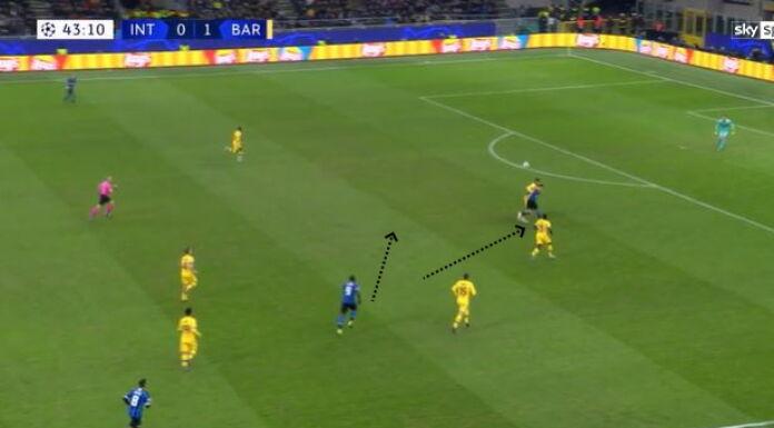 Inter Barcellona: Lautaro è dominante dal punto di vista fis