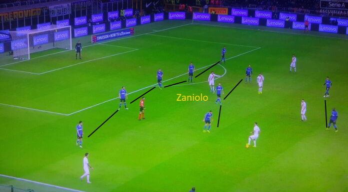 Inter Roma: con Zaniolo punta, manca pericolosità in avanti