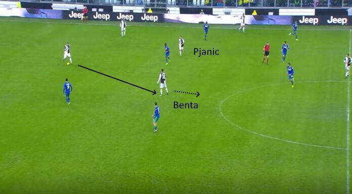 Juventus: Bentancur supporta Pjanic quando è marcato