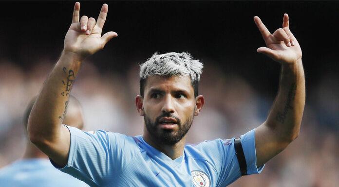 Aguero Inter |  l'agente |  «Non ho parlato coi nerazzurri |  è felice al City»