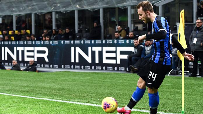Gol Eriksen Napoli Inter: il danese segna direttamente da
