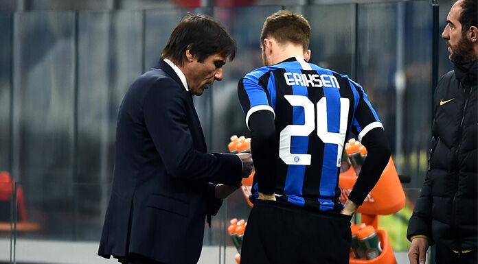Coppa Italia, Conte sceglie la carta Eriksen per ribaltare i