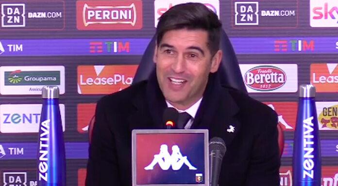 Fonseca su Spinazzola: «Ha giocato poco. Vediamo» – VIDEO