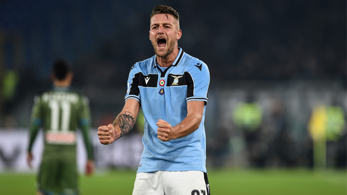 Lazio Milinkovic-Savic Real Madrid