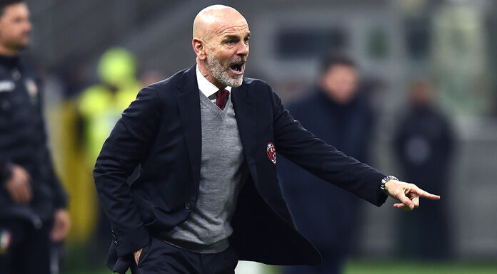 """Pioli a Milan Tv: """"Nel primo tempo meglio il Napoli, poi sia"""