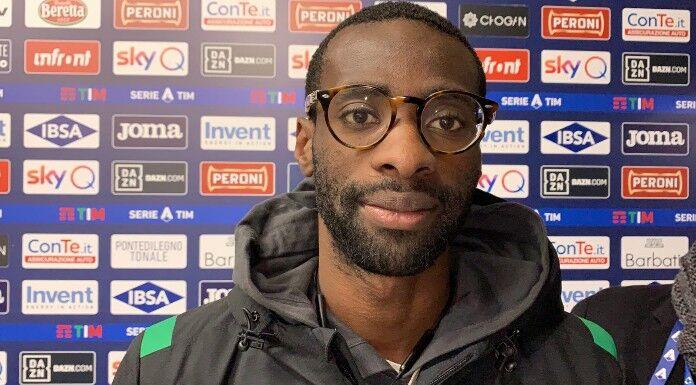 Obiang: «Spero che la Sampdoria si salvi» – VIDEO