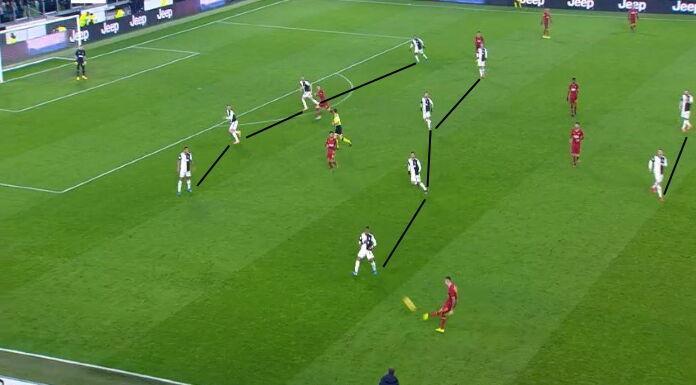 Juventus: con Douglas Costa si usa il 442 in fase difensiva