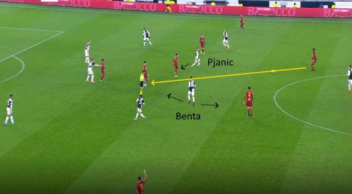 Juventus Roma    il gol di Ronaldo arriva nel momento migliore giallorosso