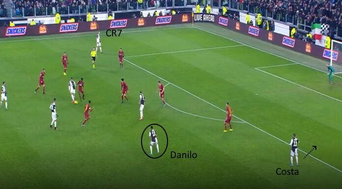 Juventus: cosa cambia tra Danilo e Cuadrado