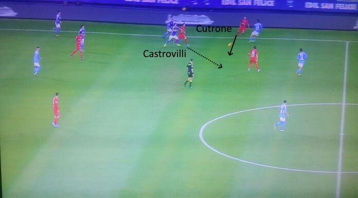 Fiorentina: Cutrone e l'importanza nel gioco spalle alla por