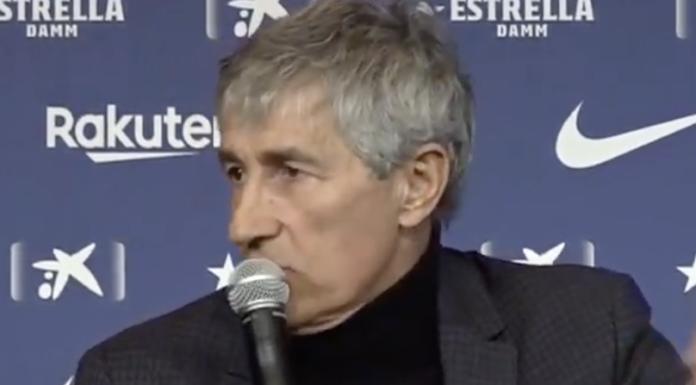 Setien: «Barçagate? Crediamo al Presidente» – VIDEO