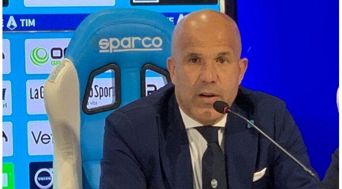Conferenza stampa Di Biagio: «Dobbiamo parlare poco. C'è gra