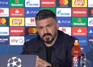 Conferenza stampa Gattuso