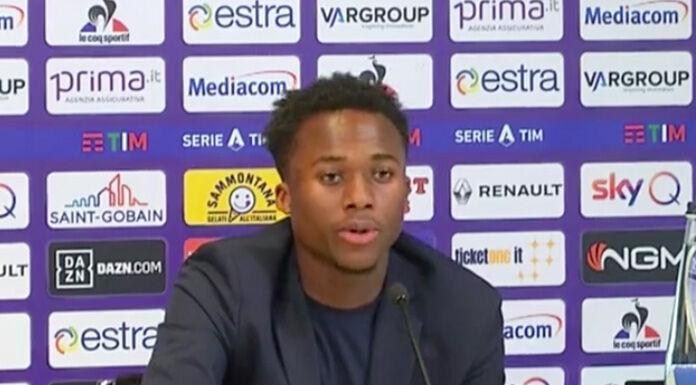 Kouame: «Voglio ripagare la fiducia della Fiorentina. Commis