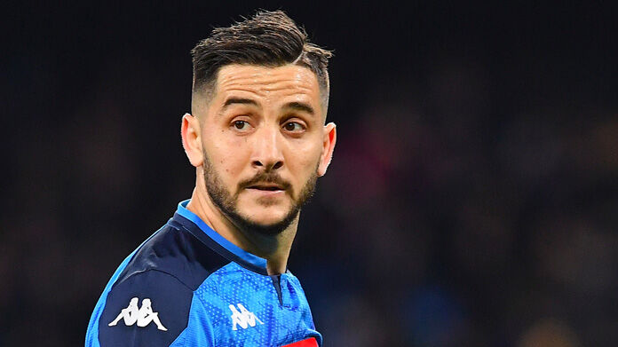 infortunio manolas napoli