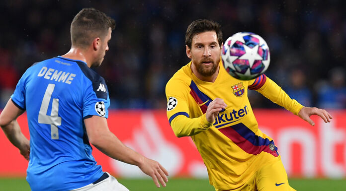 Barcellona Napoli 2 0 LIVE: Messi raddoppia!