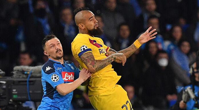 Napoli Barcellona 1 0 LIVE: Mertens esce per infortunio