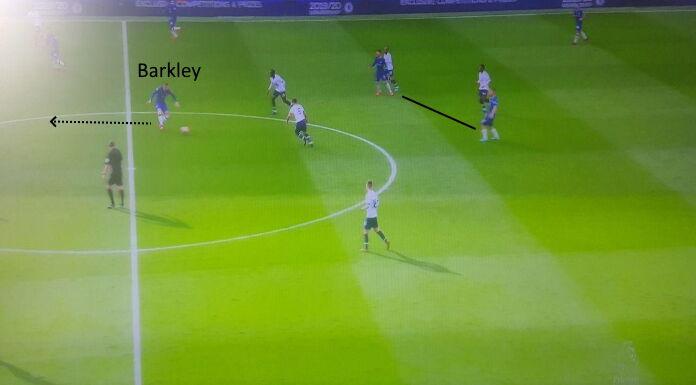 Chelsea: l'importanza di Barkley tra le linee