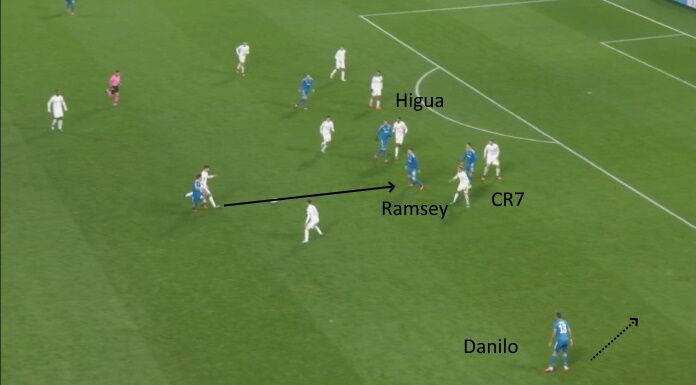 Juventus: Ramsey mezzala dà più pericolosità alla squadra
