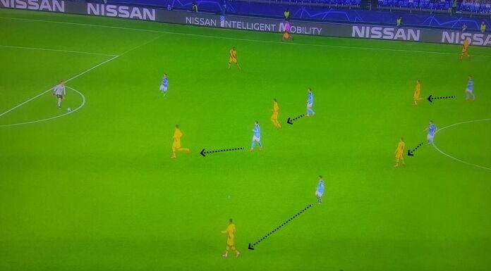 Napoli Barcellona: Gattuso alza la pressione nel finale