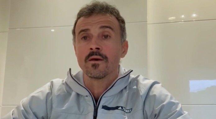 Luis Enrique: «Coronavirus, proteggiamo chi è più a rischio»