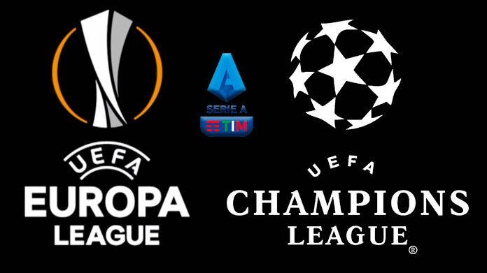 Europa League Champions League Serie A