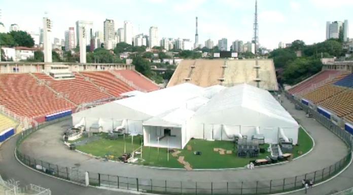 Coronavirus, il Maracanà diventa ospedale da campo – VIDEO